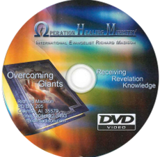 Overcoming Giants and Receiving Revelation Knowledge (DVD)