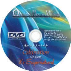 Sid Roth Interview/ Marcus Lamb Interview/ Funny Stories (DVD) $20