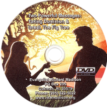Taking Dominion & Israel, the Fig Tree (DVD) $20