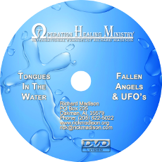 Tongues In The Water / Fallen Angels, UFOs and Deception (DVD) $20