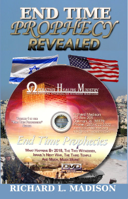 Endtime Prophecy book and 2 hr DVD $25