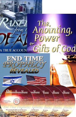 All Three of Rick Madison's books plus 5 Endtime DVDs $95