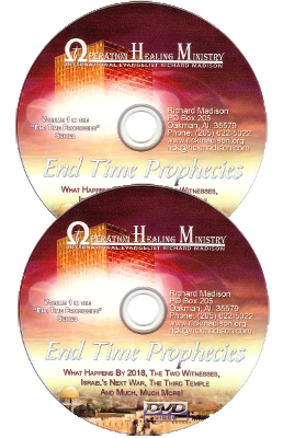 Rick's new 2 Endtime CD set (2hrs) $15