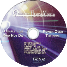 I Shall Live and Not Die / Power Over the Devil (DVD) $20