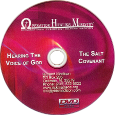 Hearing the Voice of God / The Salt Covenant (DVD)