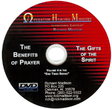 The Benefits of Prayer / The Gifts of the Spirit (DVD) $20