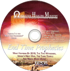 End Time Prophecies Vol 1 (DVD) $20