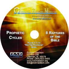 Prophetic Cycles and Eight Raptures in the Bible (DVD)